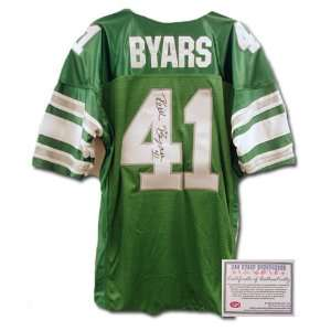 NFL Hand Signed Authentic Style Home Green Jersey