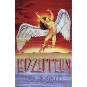 LED ZEPPELIN SWAN SONG POSTER 24X36 #3337