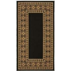 Safavieh Rugs Courtyard Collection CY5140G 5 Black/Coffee