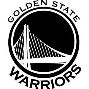 Golden State Warriors NBA Vinyl Decal Sticker / 12 x 9.9