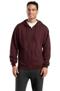 Classic Fleece Full Zip Hoodie Sweatshirt 9 oz 4XL 6XL