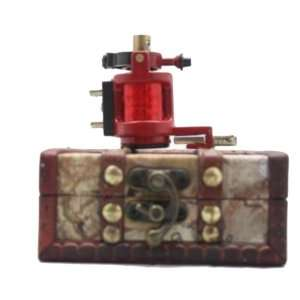 handmade Rotary Tattoo Machine Motor Gun liner shader kit+wood