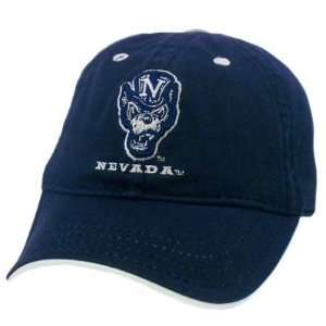 HAT CAP TODDLER BABY NEVADA WOLF PACK GAME COTTON NAVY