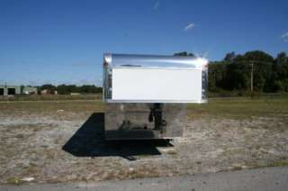 NEW 8.5 X 52 8.5 X52 ENCLOSED GOOSENECK CARGO CAR HAULER TRAILER 21K
