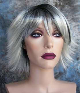 Wigs Storm   X Men 3 Silver/Black Costume Cosplay Wig