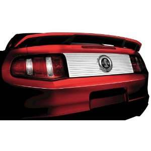 DECKLID PANEL W/ GT500 FAUX GAS CAP FORD MUSTANG 2010 2012 Automotive