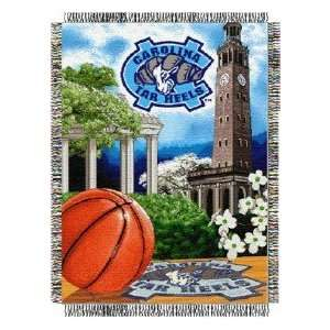 North Carolina Tarheels NCAA Home Field Advantage Throw