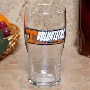 NCAA Tennessee Volunteers 16oz. Pewter Logo Pub Glass