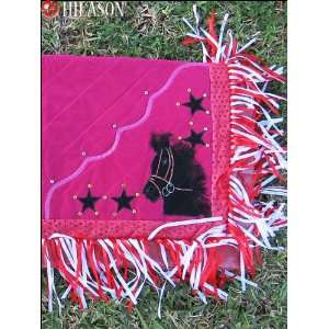 927 Western Show Barrel Racing Rodeo Saddle Blanket Pad