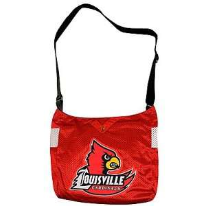 Jersey Tote/ University of Louisville, KY (Louisville Cardinals) RED