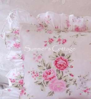 SHABBY CHIC RACHEL ASHWELL WILDFLOWER ROSE DUVET FABRIC