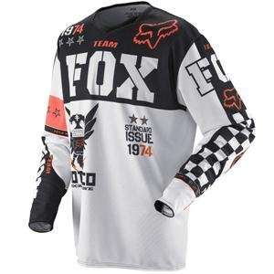 Fox Racing 360 Covert Jersey   Medium/White/Black