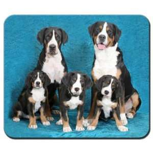 Greater Swiss Mountain Dog Mousepad