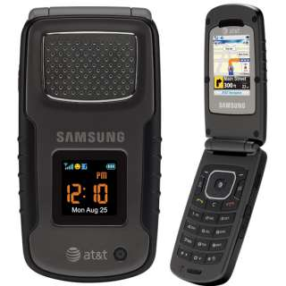 NEW 3G SAMSUNG SGH A837 Rugby Phone AT&T GPS GSM Black