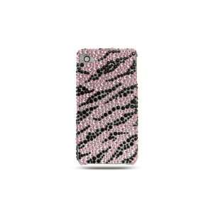 Apple iPhone 4, iPhone4 Safari Pink Black Zebra, Seamless Design Rear