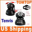 Black Wireless Security IP Camera WiFi Internet Webcam CCTV US