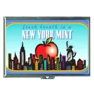 New York City Mint Big Apple ID Holder, Cigarette Case or Wallet MADE