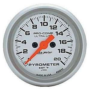 Ultra Lite Electric Pyrometer 2 1/16 in. 0   2000 Deg. F
