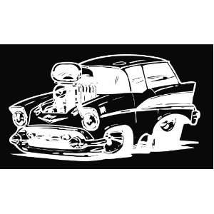 Funny Chevy Nomad Vinyl Decal Sticker