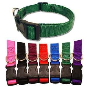 Adjustable Nylon Dog Collar Neck size 8   12 (3/8