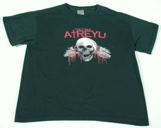 ATREYU The Curse T Shirt Fruit Of The Loom size M (Pre owned)    FREE
