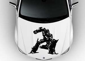 TRANSFORMERS MEGATRON ANY HOOD VINYL DECAL STICKER A88