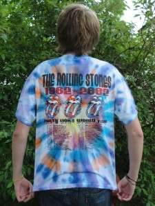 Rolling Stones 40 Licks World Tour 1962   2002 T Shirt