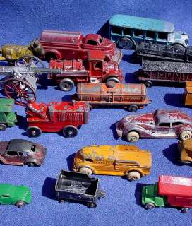 Tootsietoy Car Truck Airplane Train Lot 26 Manoil ++ As Is