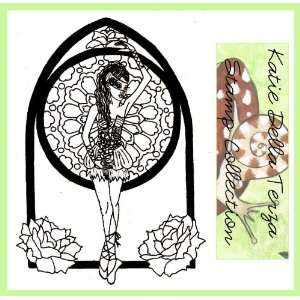 The Black Ballet Unmounted Rubber Stamp