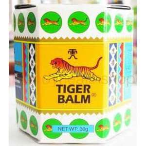 Thai Original Tiger Balm White Cool Massage 1.06 Oz [Pack