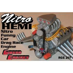 Hemi 426 Chrysler Nitro Funny Car Drag Engine by Ross