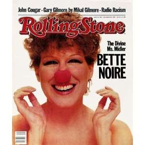 Bette Midler, 1982 Rolling Stone Cover Poster by Greg