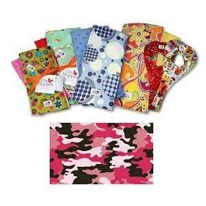 Pink Funky Camo Gift Set 1 Bib & 2 Burp Cloths Baby