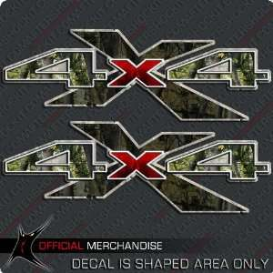 4x4 Truck Sticker Decal Hunting Camouflage Camo chevy ford dodge