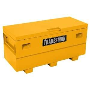 Tradesman TST6024YW 60 Yellow Steel Job Site Tool Box