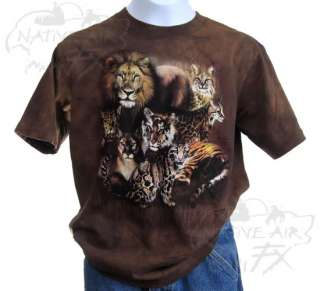 ZOO T shirt boy girl lion cheetah leopard nwt S/M/L/XL