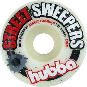 Hubba Street Sweepers 52mm Skateboard Wheels (Set of 4