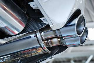Porsche Panamera Turbo Maxflo Mufflers with Deluxe Tips
