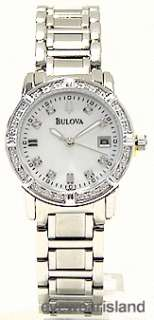 BULOVA 96R105 Watch Ladies Marine Star DIiamond