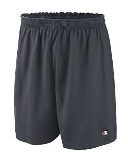 Champion Cotton Jersey Mens Athletic Shorts   style 82134