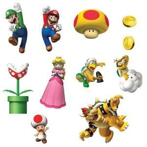 Party Destination 164716 Super Mario Bros. Removable Wall
