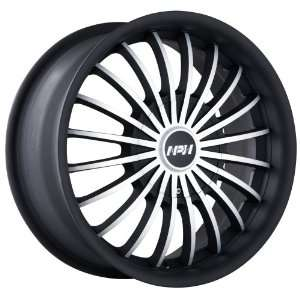 MPW MP 501 Matte Black Wheel with Machined Face (16x7