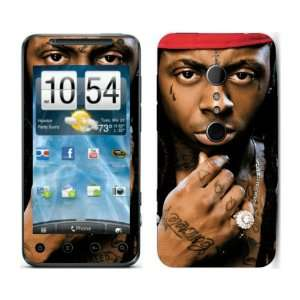 Meestick Lil Wayne Vinyl Adhesive Decal Skin for HTC Evo