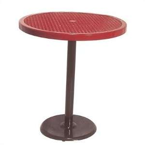 Ultra Play P Portable Round Food Court Picnic Table with