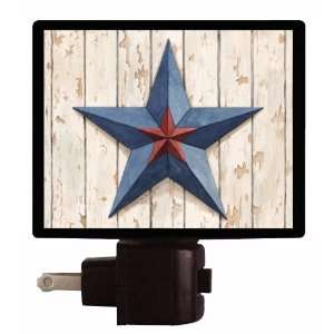 Country Night Light   Primitive Star   LED NIGHT LIGHT