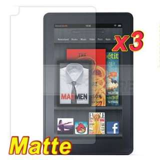 3pcs Anti Glare Matte Screen Protector Film Saver Cover for