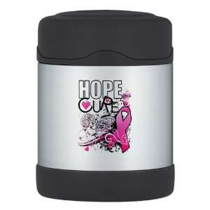 Thermos Food Jar Cancer Hope for a Cure   Pink Ribbon