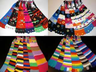 12 Pair New CHIC CUTE TOE SOCK Wholesale MIX Lot Sz ALL