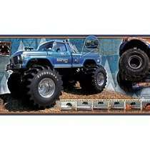 Bigfoot Store   FORD BIGFOOT monster truck decor WALLPAPER BORDER 12