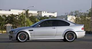 BMW LM Style 19 Wheels Staggered E46 M3 Hyper Silver Step Lip